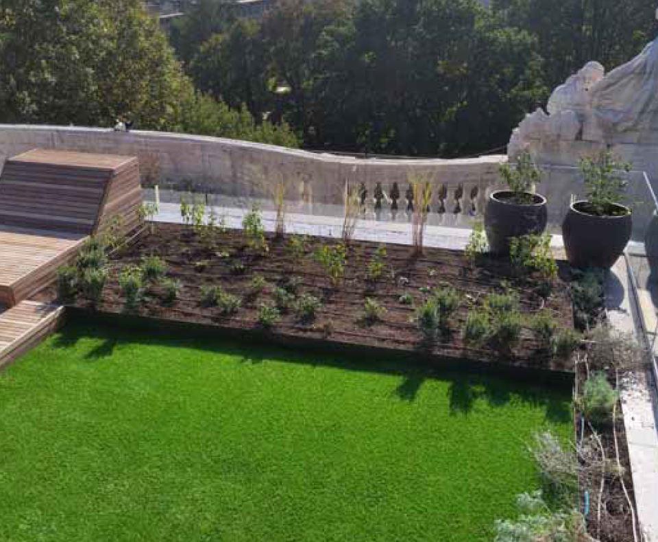 Progettazione terrazzi milano architetto milano barreca ivan for Arredamento terrazzi milano